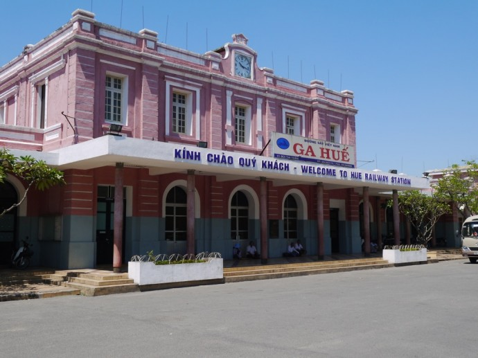 Hue Train Station Exit