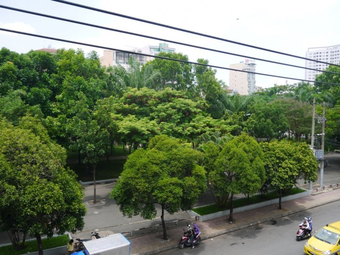 View From Balcony Of Hotel Lucy, Ho Chi Minh City