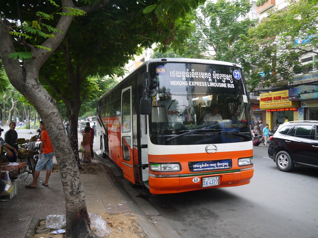 Saigon To Phnom Penh By Bus - Renegade Travels