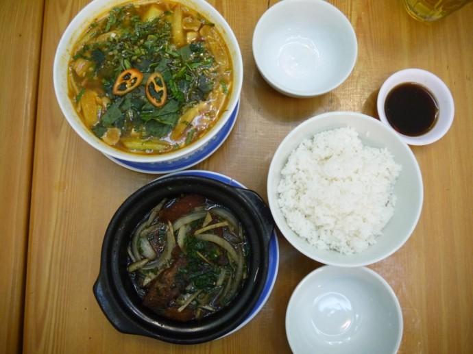 Vegetarian Meal At Ngoc Tho, Ho Chi Minh City