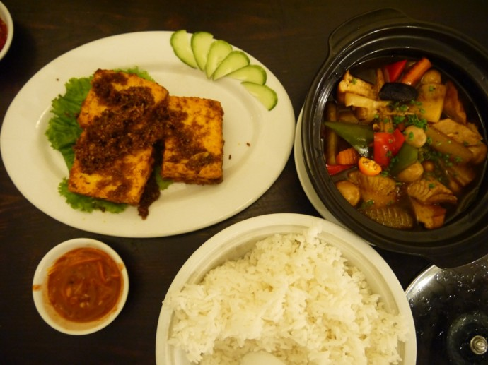 Food at Sen Vegetarian Restaurant In Saigon