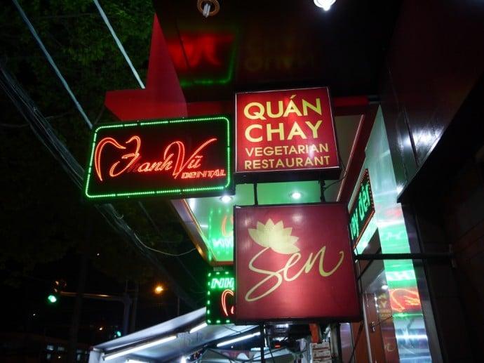 Sen Quan Chay Vegetarian Restaurant, Ho Chi Minh City
