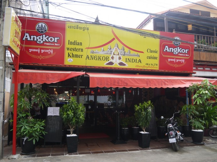 Angkor Indian Restaurant On Street 278, Phnom Penh