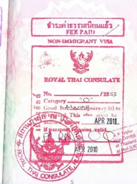 Thailand visa requirements uae jcc