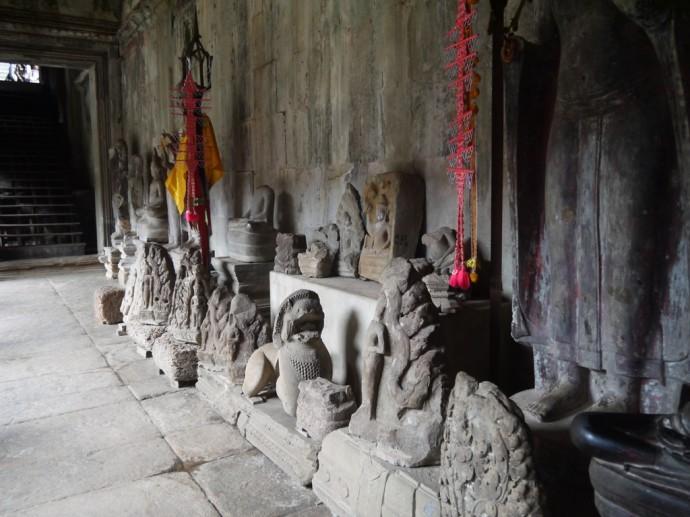 Buddha Statues At Angkor Wat