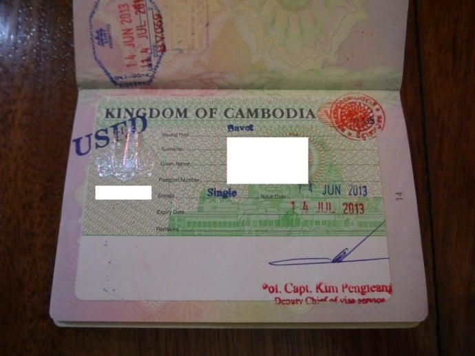 SE Asia Visa Requirements For US & UK Passport Holders