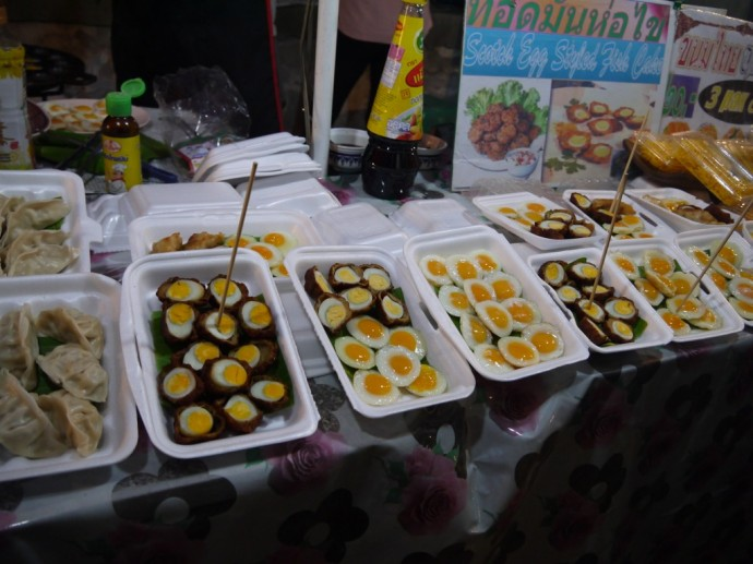 Quail Eggs At Chiang Mai Sunday Night Market