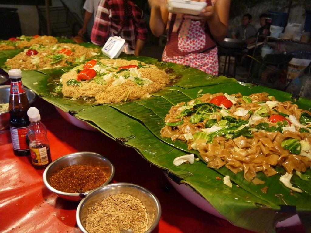 Street Food At Chiang Mai Sunday Night Market