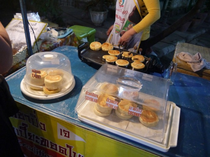 Vegetarian & Vegan Pancakes At Sunday Night Market, Chiang Mai