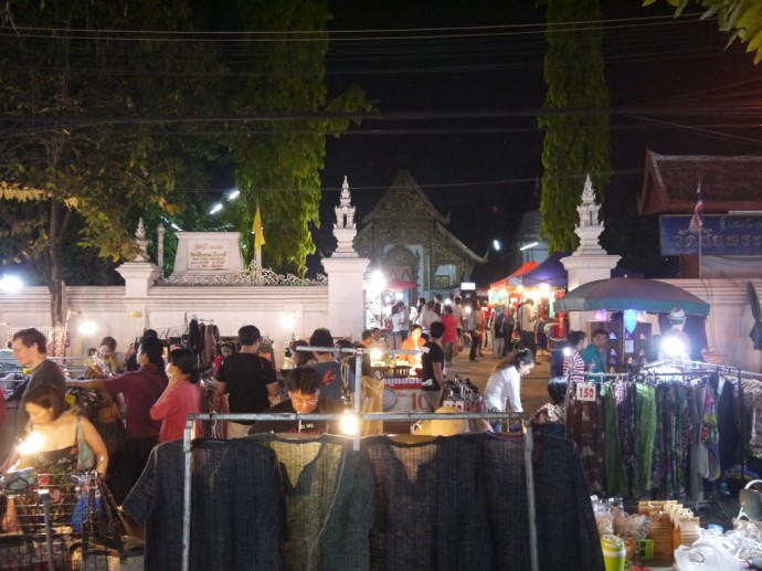 Sunday Night Market In Temple
