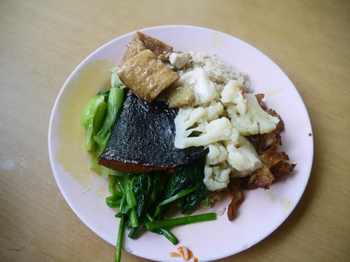 Vegetarian Buffer Lunch For 70 RM ($2.20)
