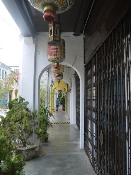 Some Typical Old Houses In George Town, Penang