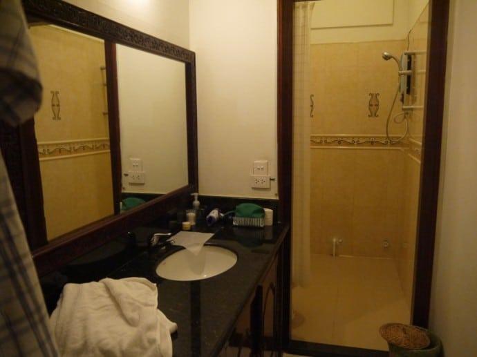 Bathroom Area At J Villa, Phnom Penh