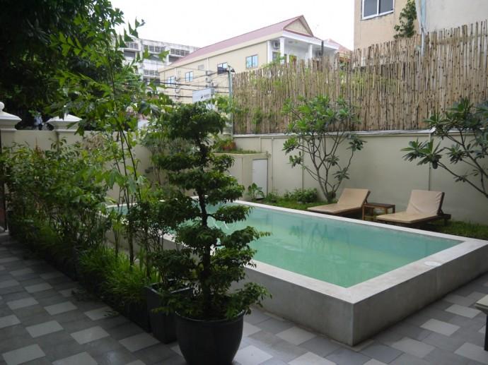 Pool At J Villa, Phnom Penh