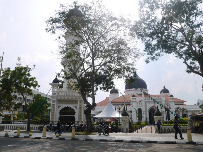 One Of The Most Beautiful Mosques In George Town - Kapitan Keling Mosque
