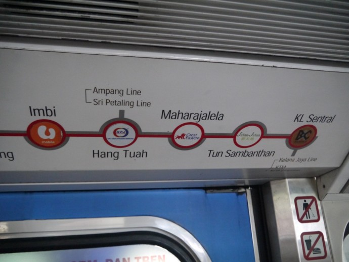 Imbi Is Four Stops From KL Sentral