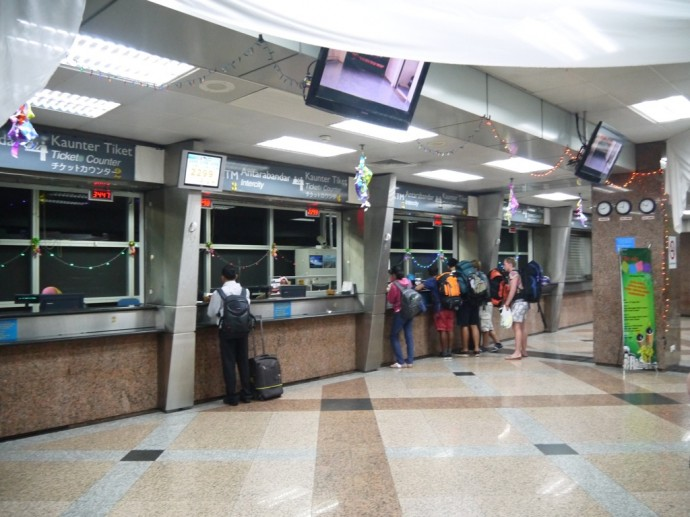 KL Sentral Train Booking Counters