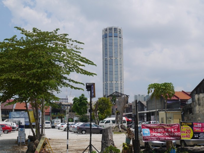 KOMTAR - The Tallest Building In George Town