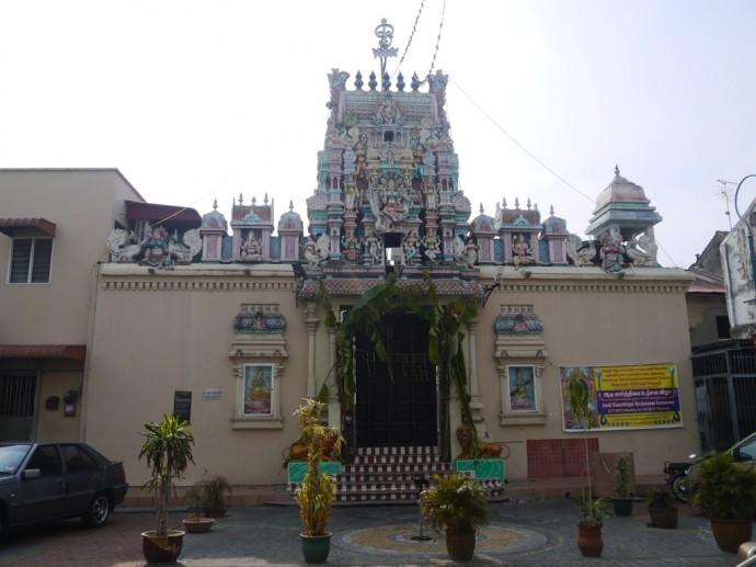 Mahamariamman Temple In Little India