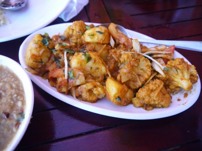 Aloo Gobi At Maharajah Indian Restaurant, Siem Reap
