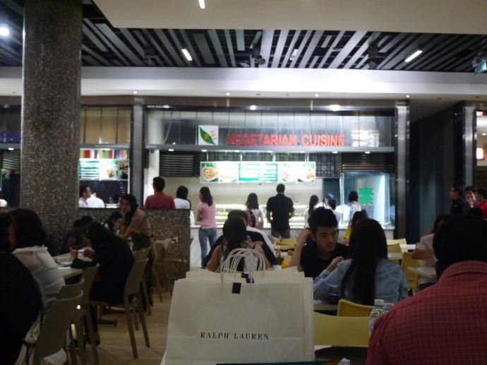 Vegetarian Food At Pavilion Mall Food Court, Kuala Lumpur