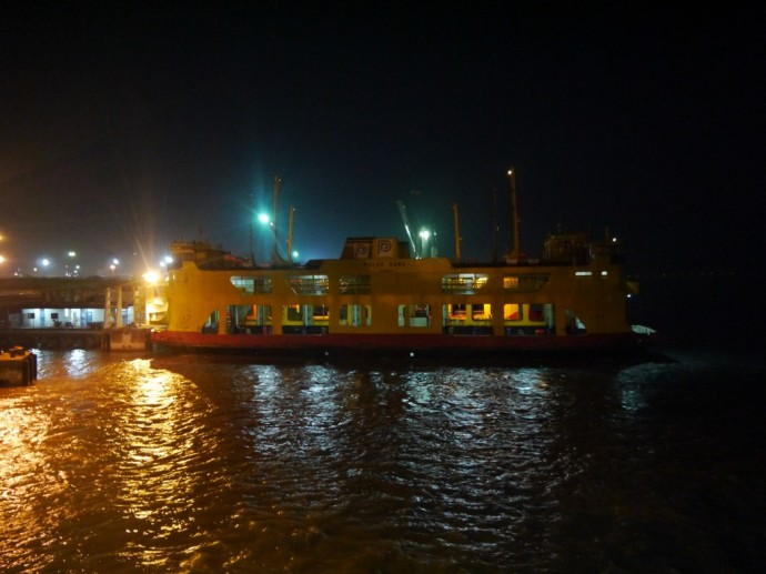 Ferry From Butterworth To George Town, Penang