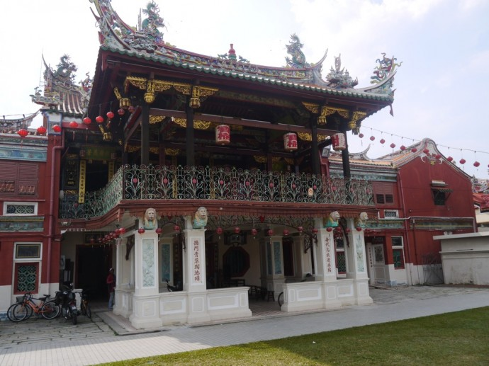 Seh Tek Tong Cheah Kongsi Chinese Temple