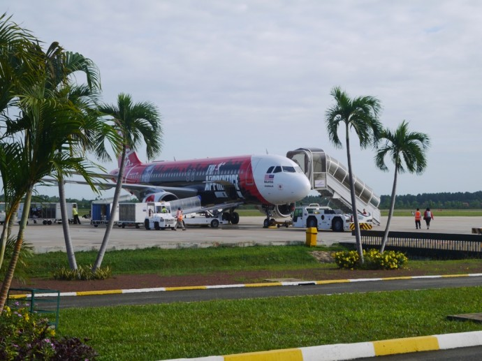 Our Air Asia Plane At Siem Reap Airport