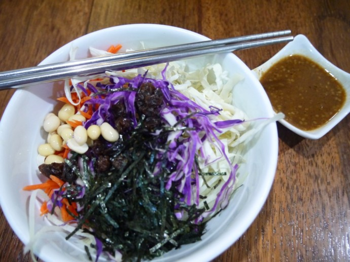 5-Energy Salad With Miso Dressing