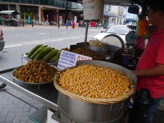 Chickpeas, Corn & Peanuts