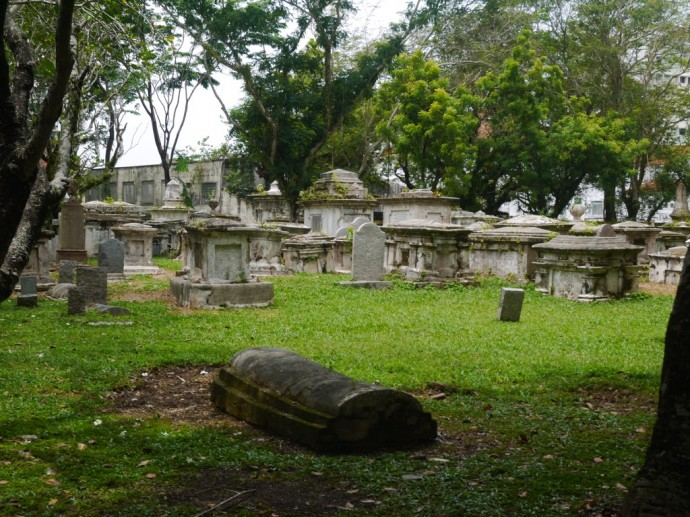 Christian Cemetery - First Known Burial 1789