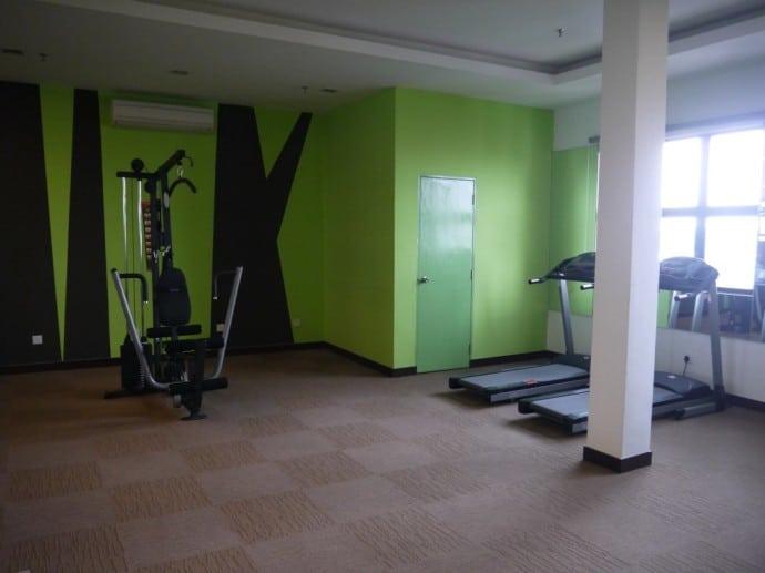 Fitness Room At Citrus Hotel, Johor Bahru, Malaysia