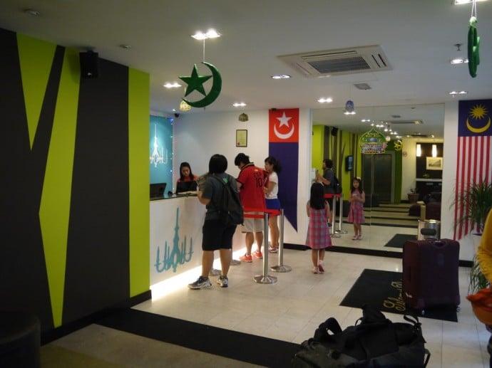 Lobby At Citrus Hotel, Johor Bahru, Malaysia