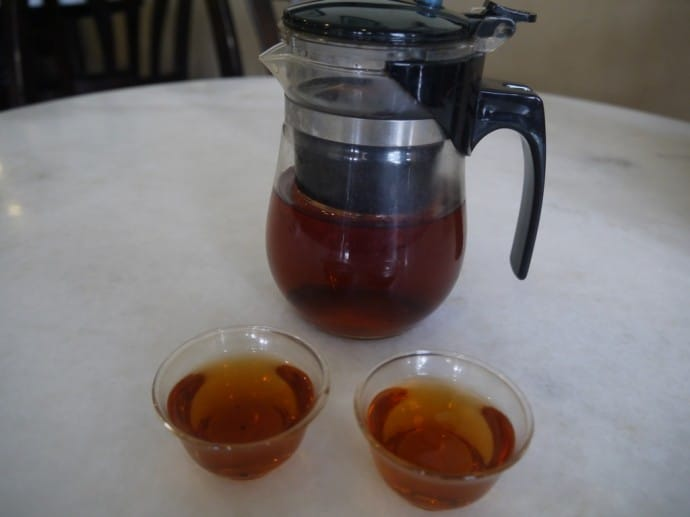 Pot Of Puer Tea