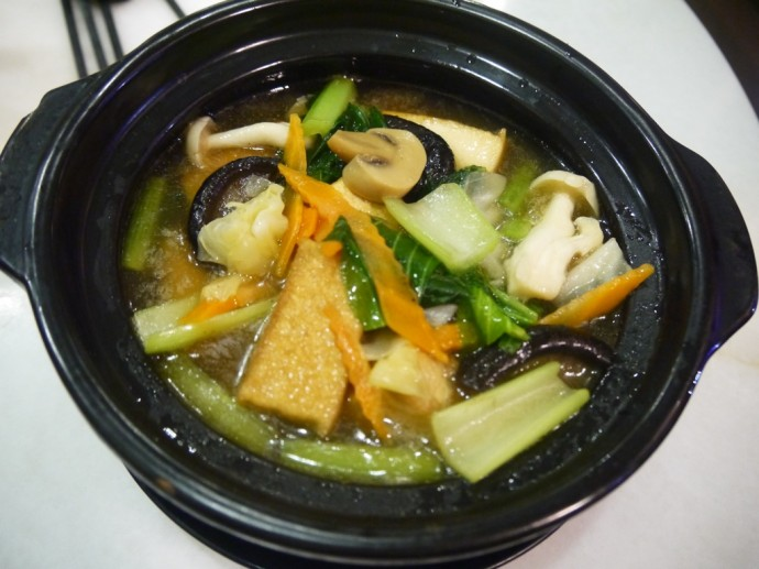Tofu Claypot