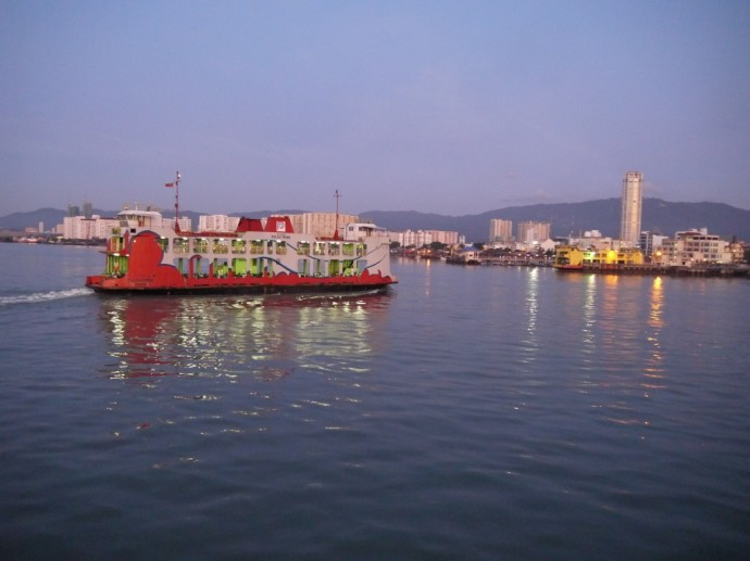 George Town To Butterworth Ferry