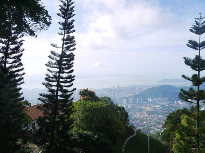 View Of George Town From Penang Hill