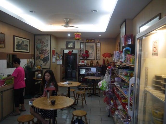 Seating Inside Shong Hor Hin Medicated Tea Stall