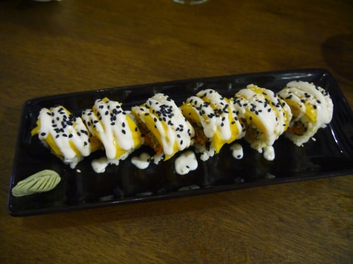 Golden Age Inside-Out Sushi Rolls