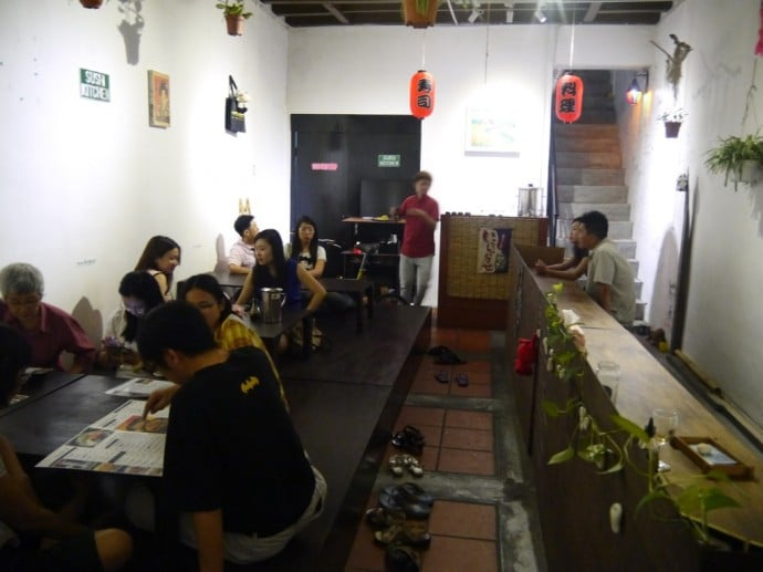 A Very Full Sushi Kitchen, George Town, Penang