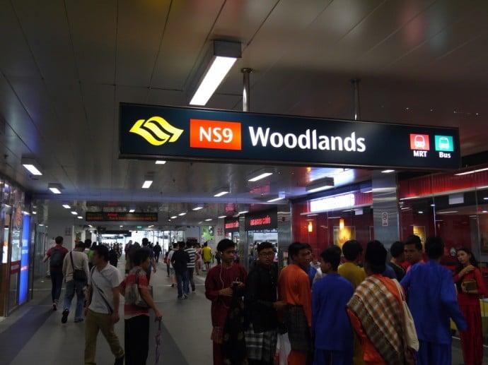 Woodlands MRT Station, Singapore