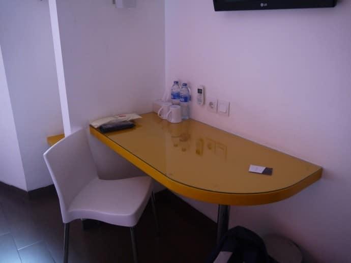 Desk & Chair At Amaris Hotel Juanda