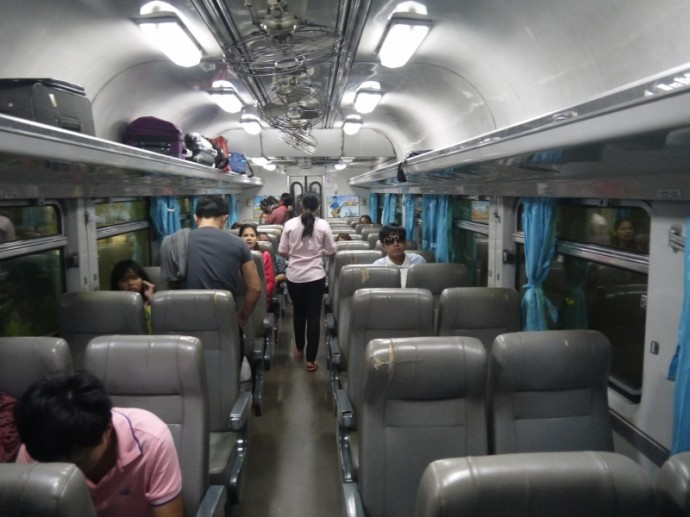 Bangkok To Surin Train - Northeastern Line