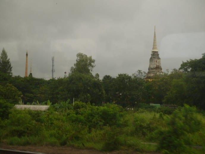 Passing Through Ayutthaya