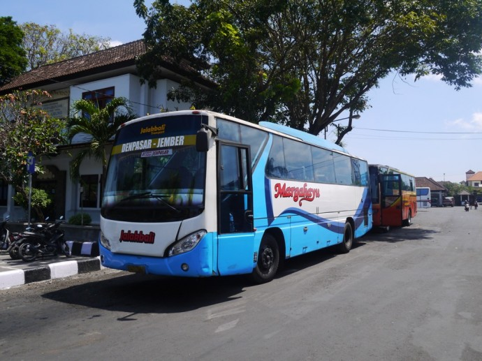 Our Bus From Denpasar To Banyuwangi via Gilimanuk