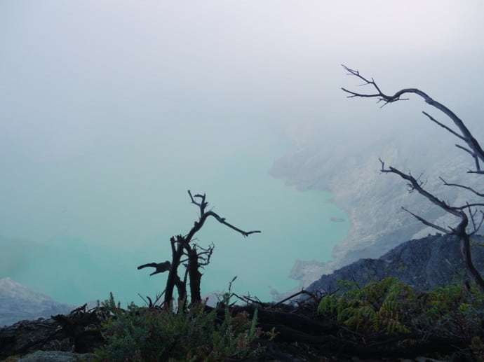 Another View Of The Enormous Acid Lake