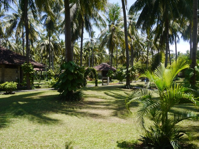 The Stunning Grounds At Ketapang Indah Hotel