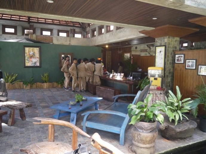 Lobby At Ketapang Indah Hotel