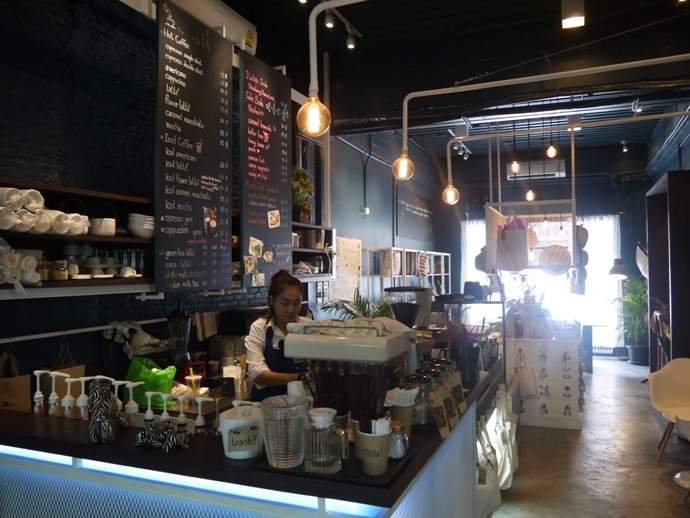 Knob Cafe, Baan Silom, Silom Road, Bangkok