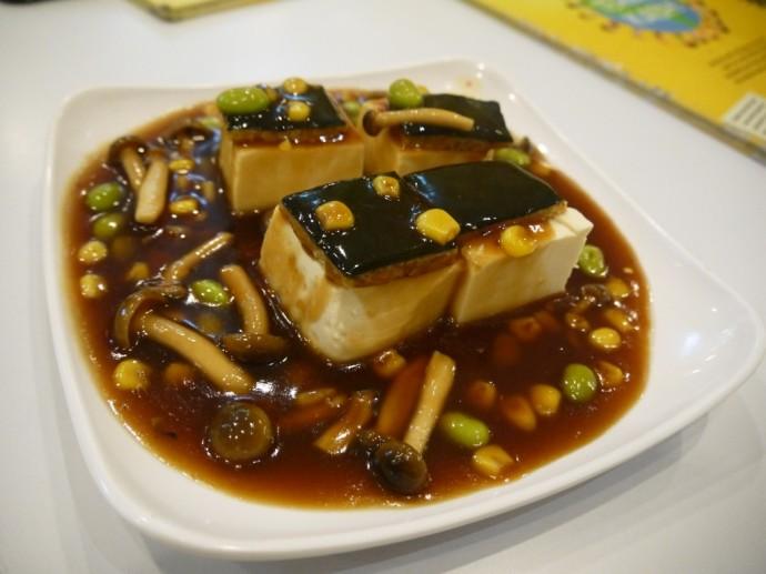 Enchanted Tofu At Loving Hut, Surabaya